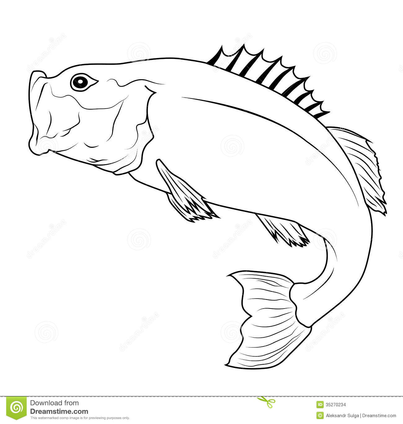 Jumping Fish Stock Images