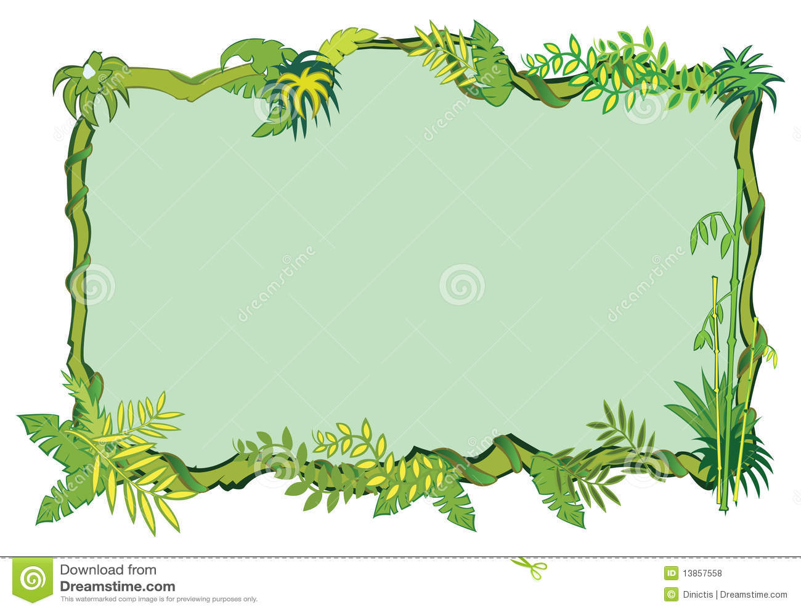 Jungle Safari Borders And Frames