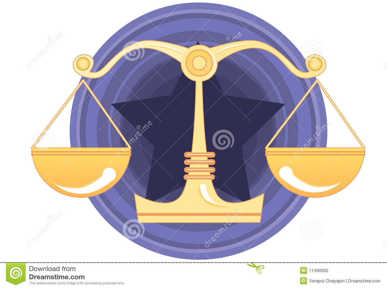 Justice Jury And Verdict Stock Illustration Illustration