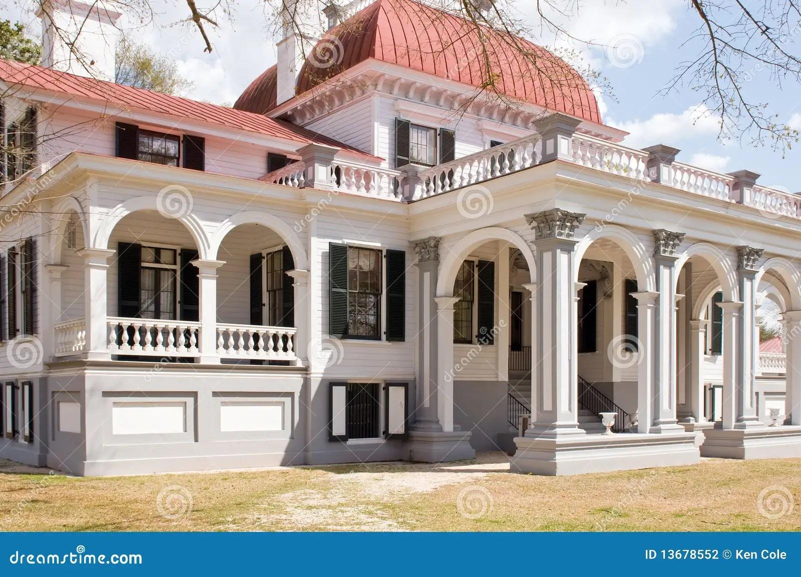 Kensington Mansion South Carolina Stock Photography Image 13678552
