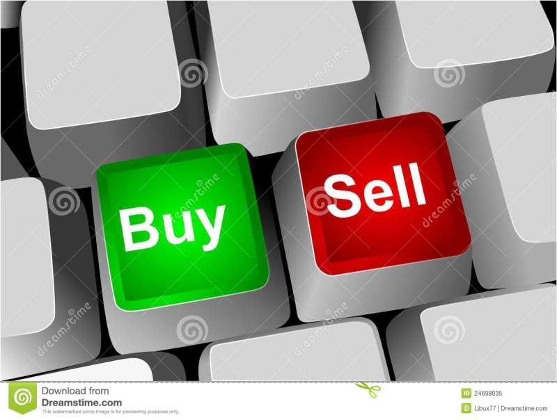 Keyboard, Buy And Sell Keys Royalty Free Stock Photo ...