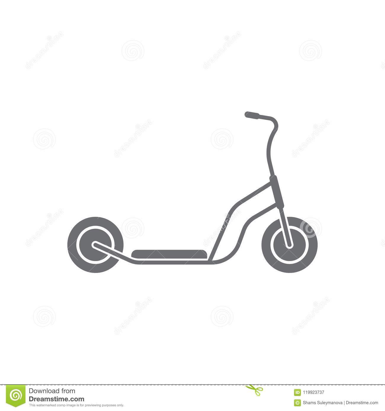 Electric Bike Scooter Royalty Free Stock Photo