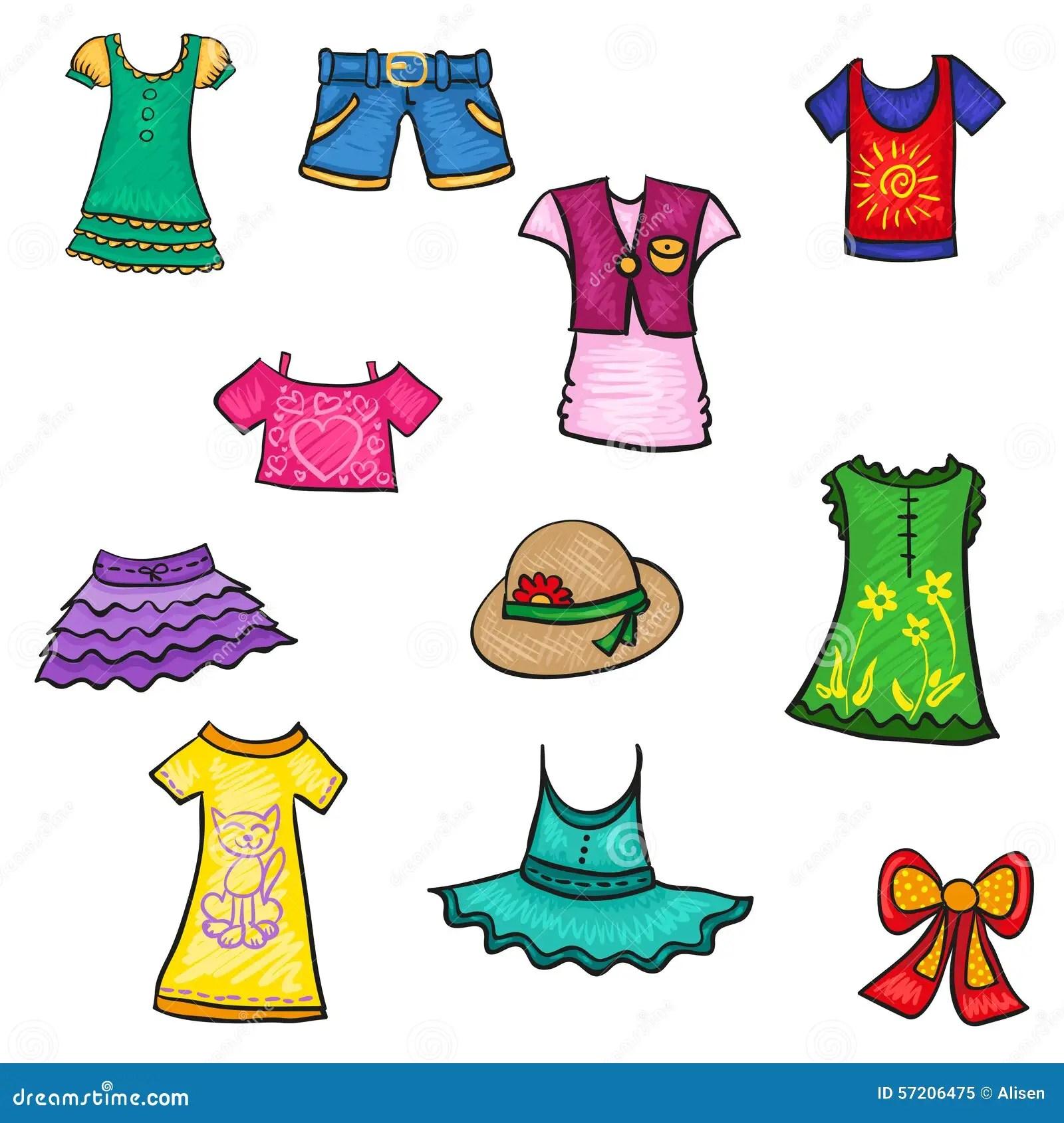 Drawing Clothing Worksheet