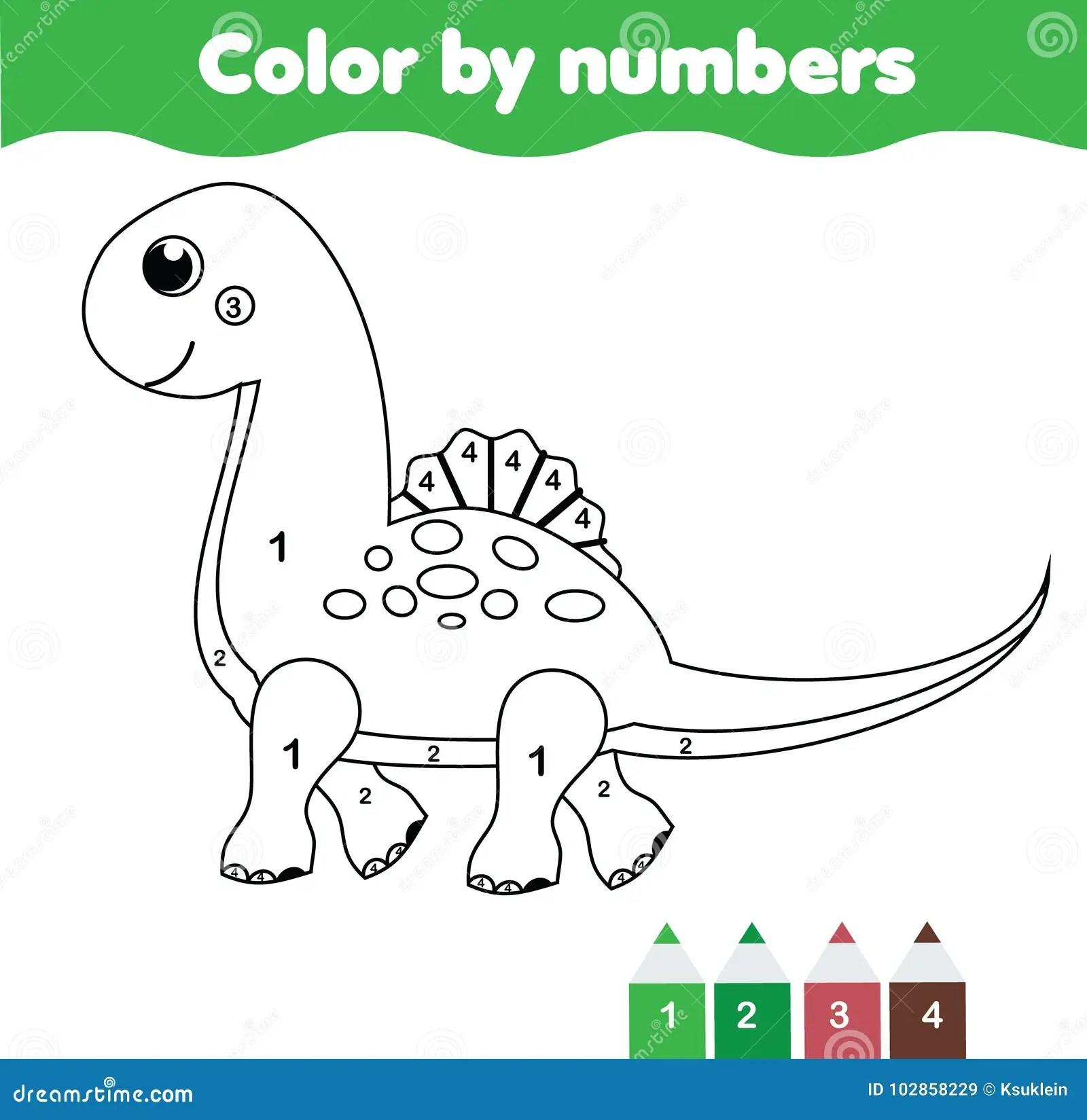 Kinderen Onderwijsspel Kleurende Pagina Met Leuke