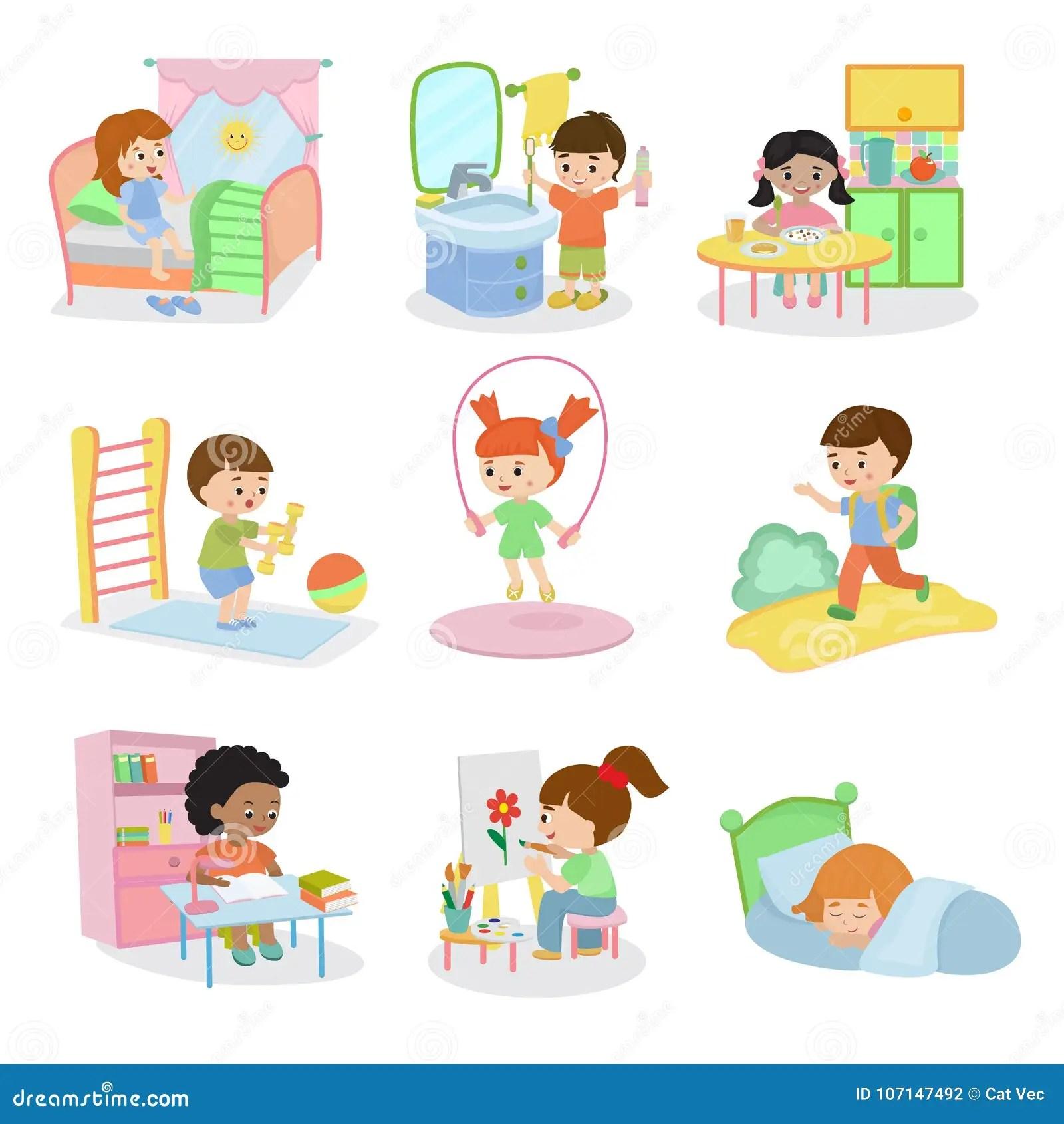 Kindertagliche Aktivitaten Stellten Kindertagliche