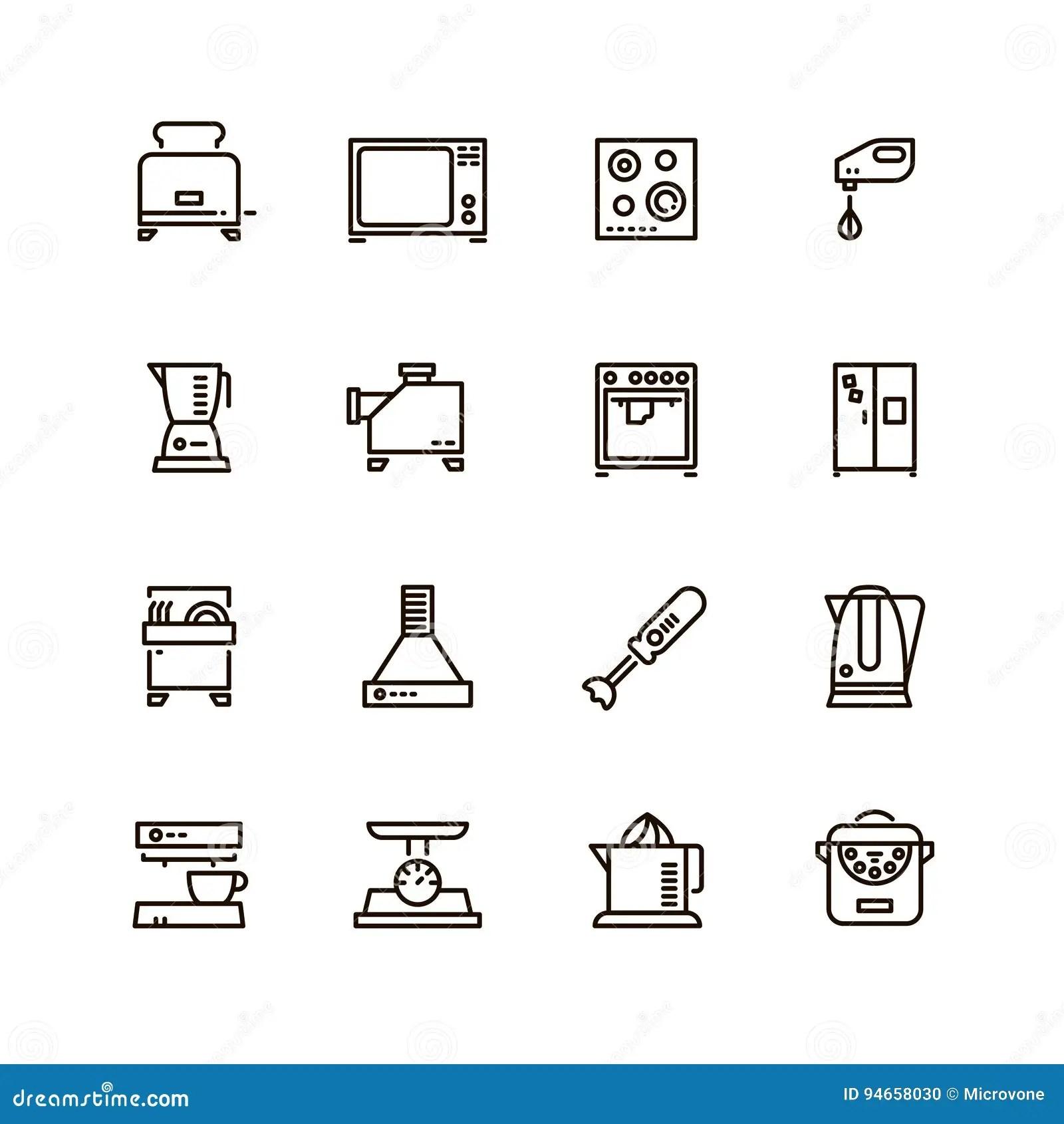 Symbols For Dishwasher Icon Cartoon Vector