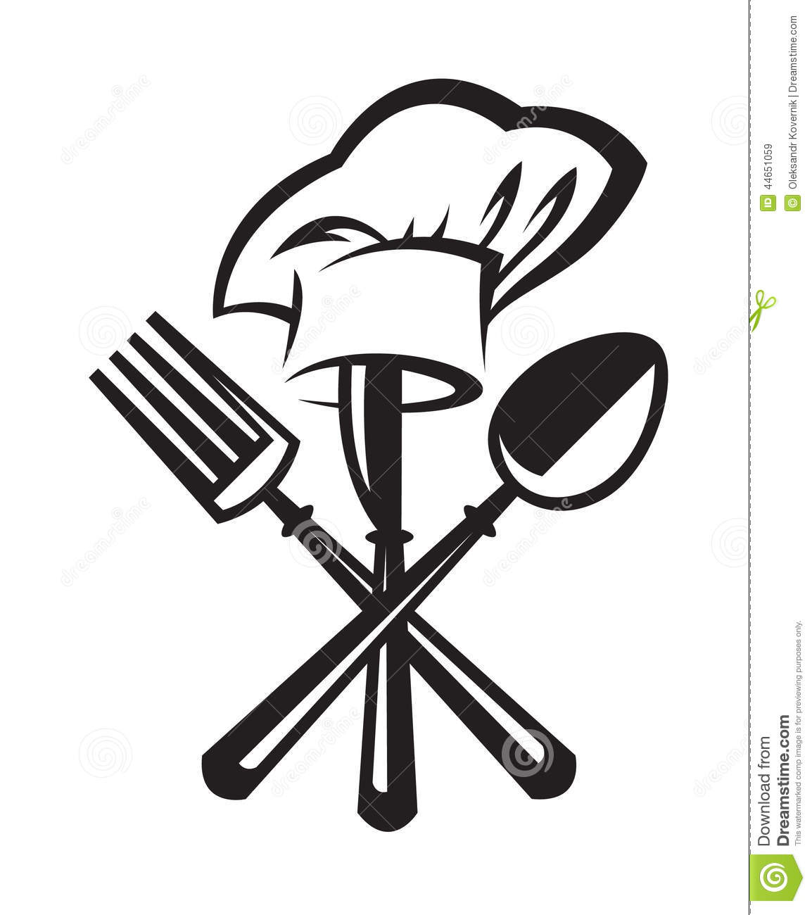 Knife Fork And Spoon Stock Vector Illustration Of Icon