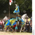 Medieval Knight Horse Riding Prague Castle Editorial Stock Image Image Of Parade Costume 75816084
