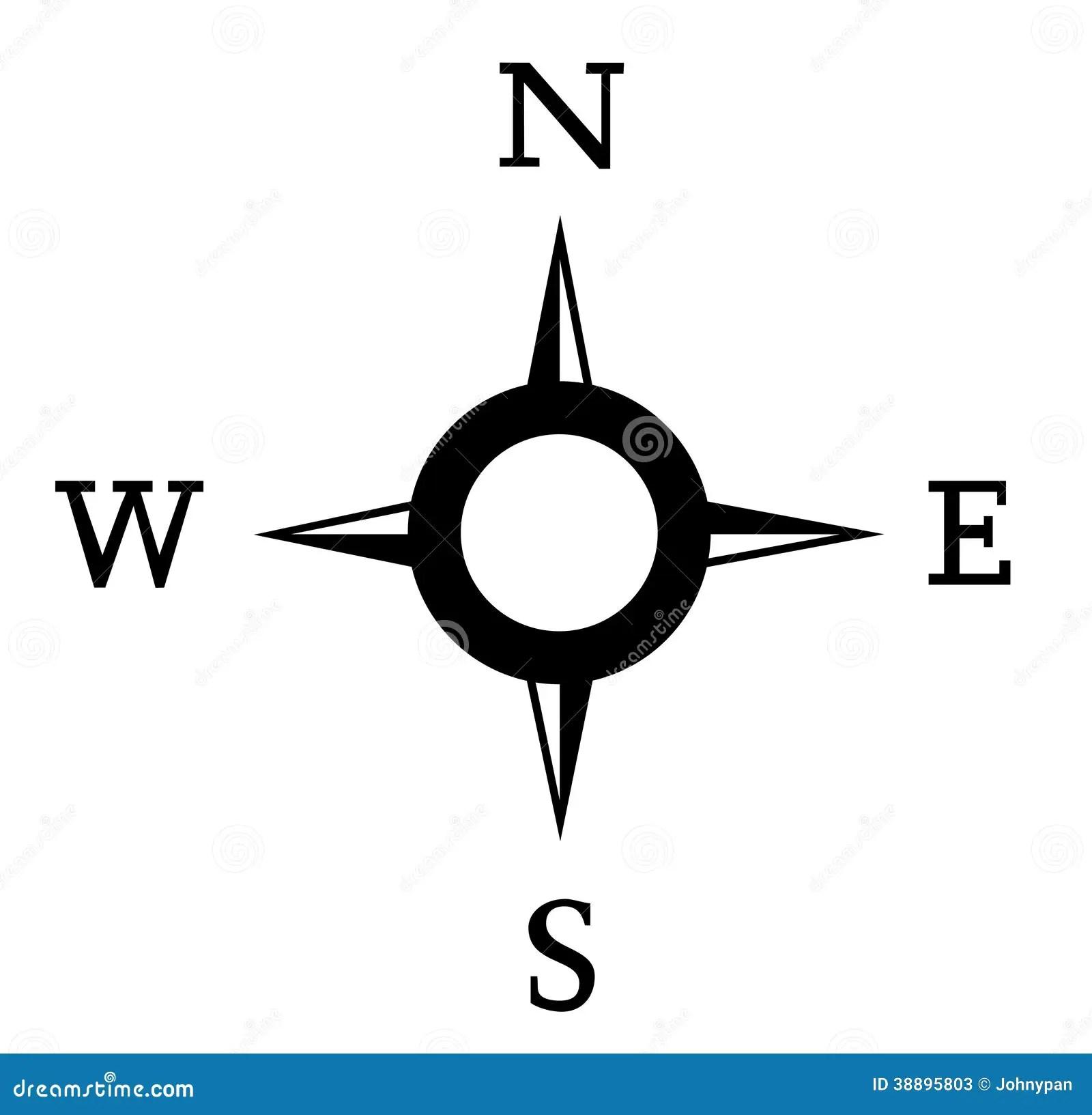 Kompass Stock Abbildung Illustration Von Pfeil Nahern
