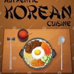 Korean Food Stock Vector Illustration Of Menu Meat 51267974