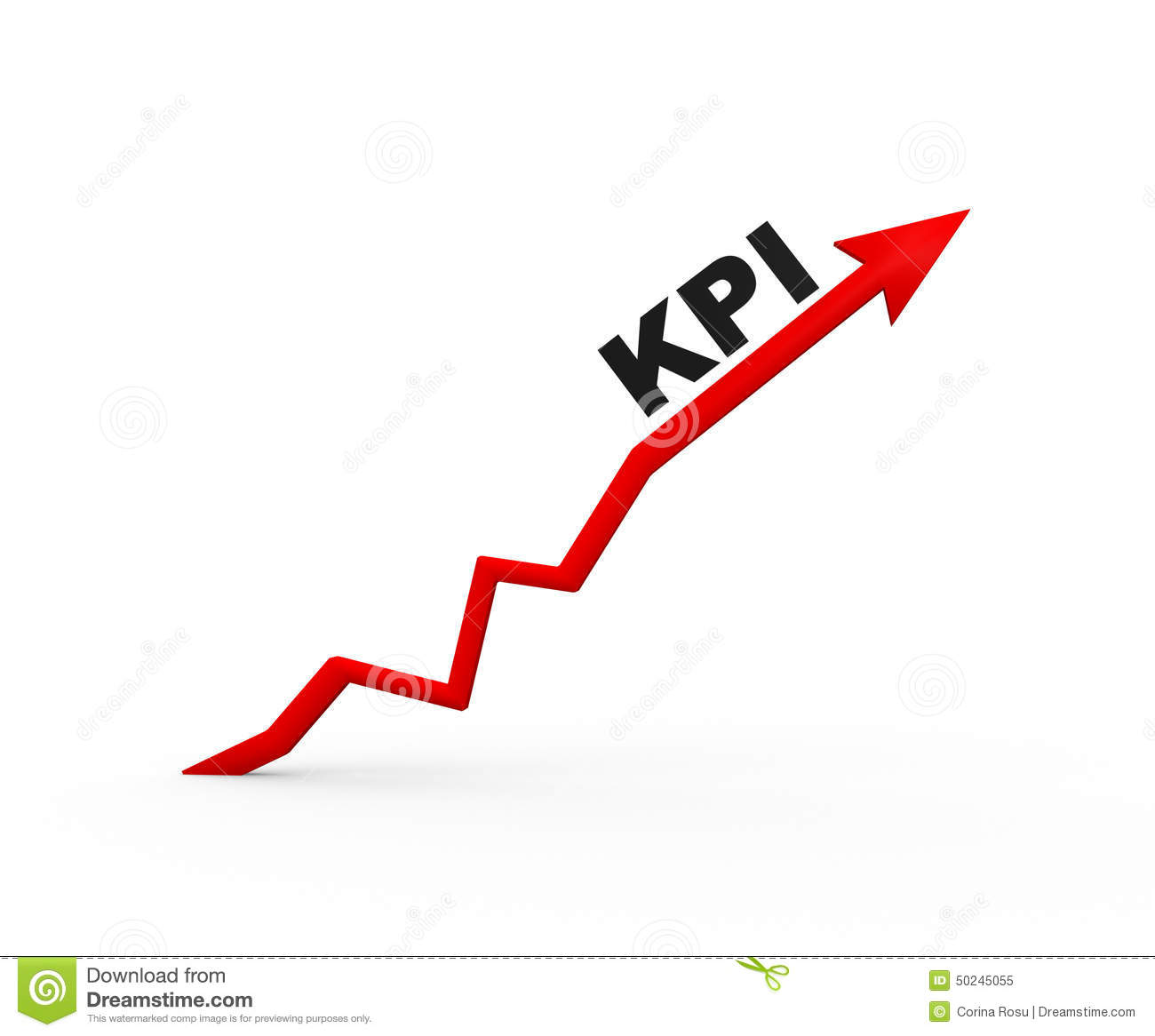 Kpi Key Performance Indicator Stock Illustration