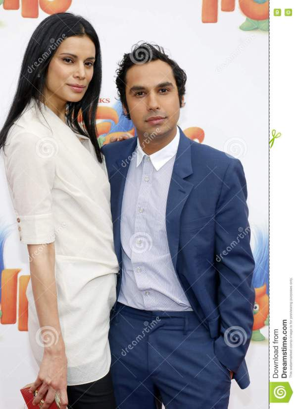 Kunal Nayyar And Neha Kapur Editorial Image - Image of ...