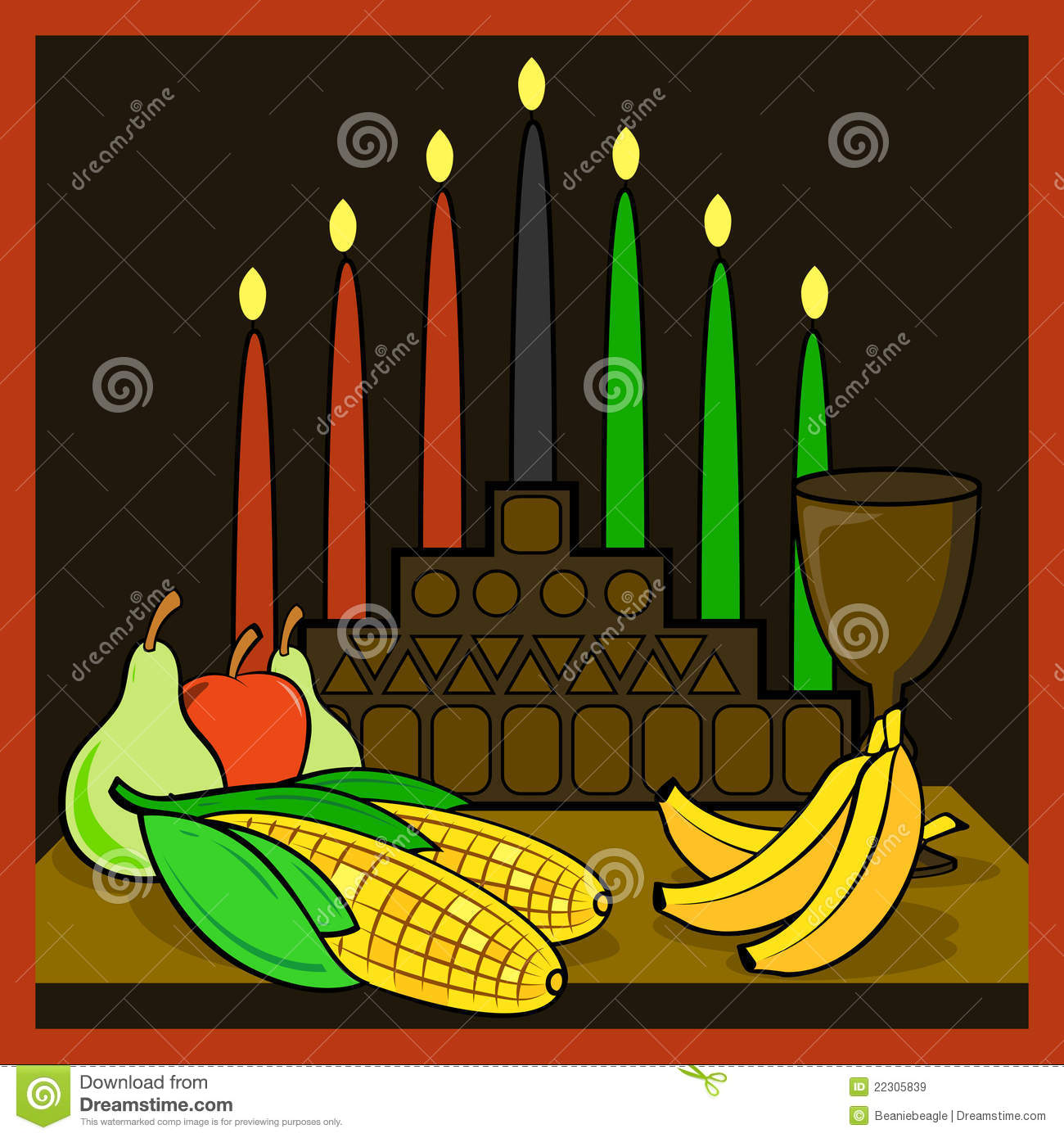 Kwanzaa Royalty Free Stock Images