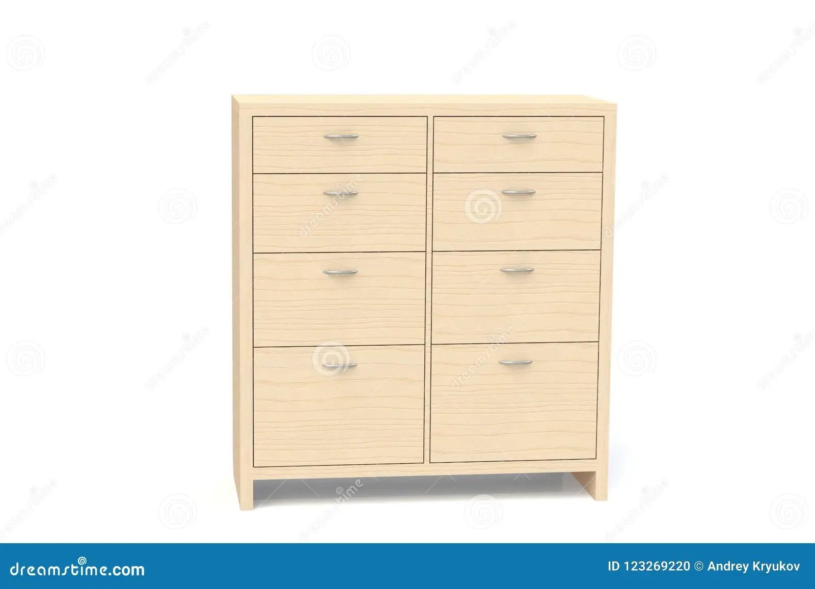 la garde robe avec des tiroirs pour des