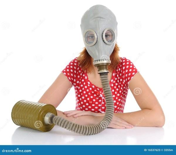 La Personne Avec Le Masque De Gaz Image stock - Image du ...