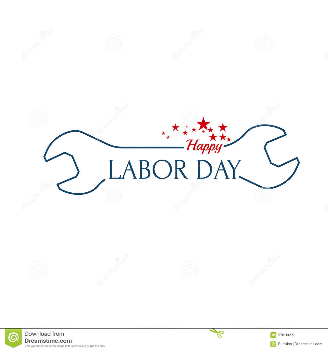 Labor Day Banner Vector Illustration