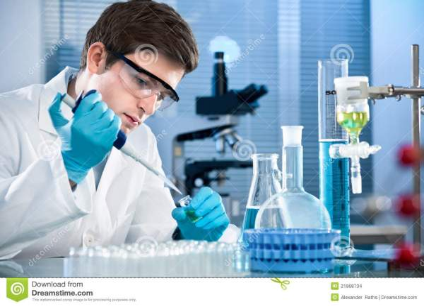 Laboratorium stock foto. Afbeelding bestaande uit petri ...
