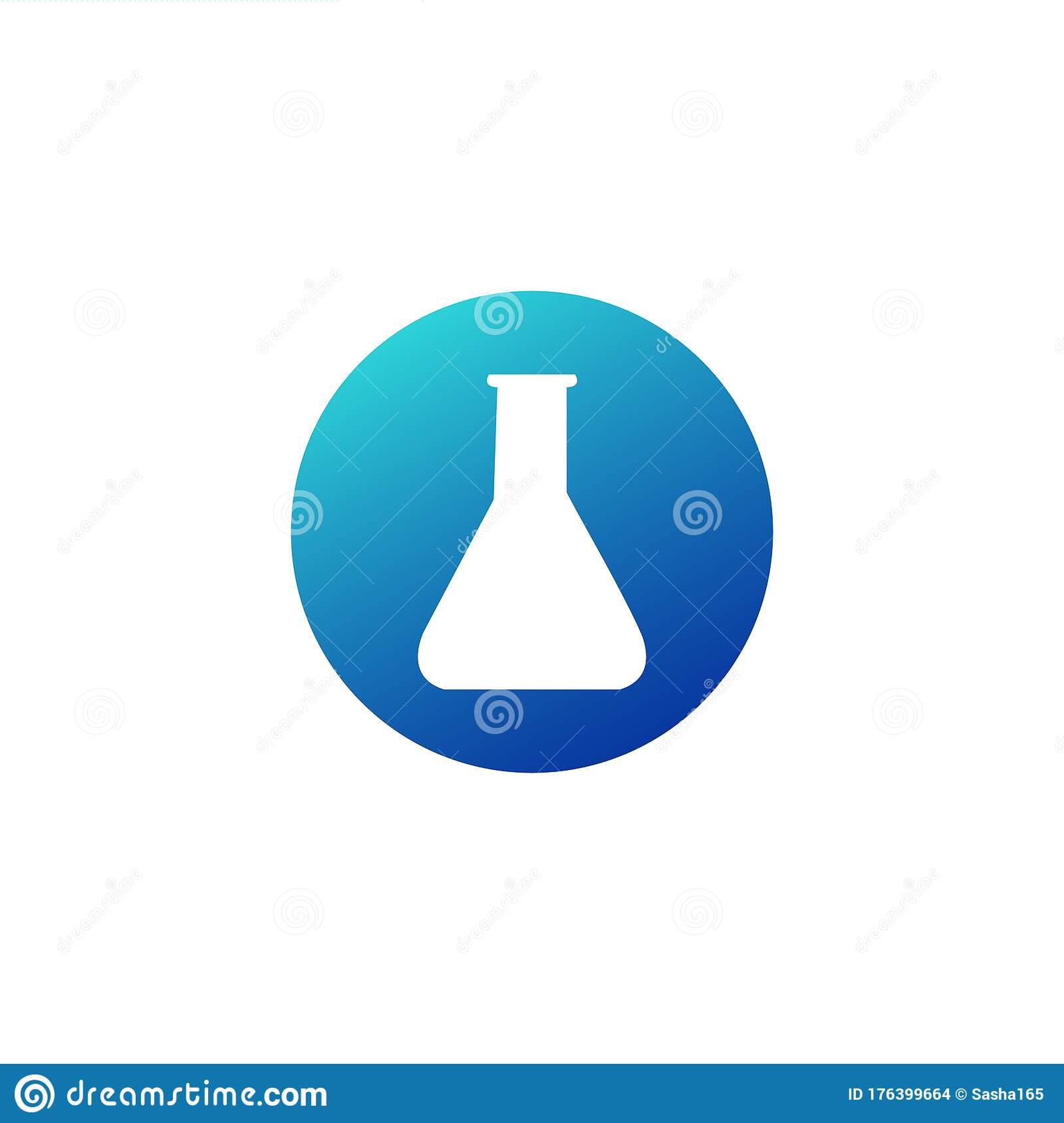 Laboratory Chemistry Equipment Test Tube Icon Lab Flask