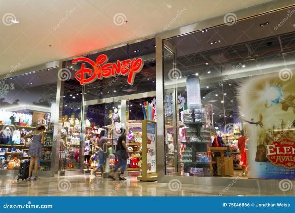 Las Vegas - Circa July 2016: Disney Store Retail Mall ...