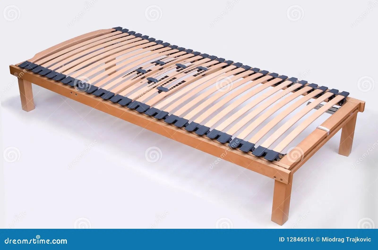 Latoflex Birch Wood Slats Stock Photo Image 12846516