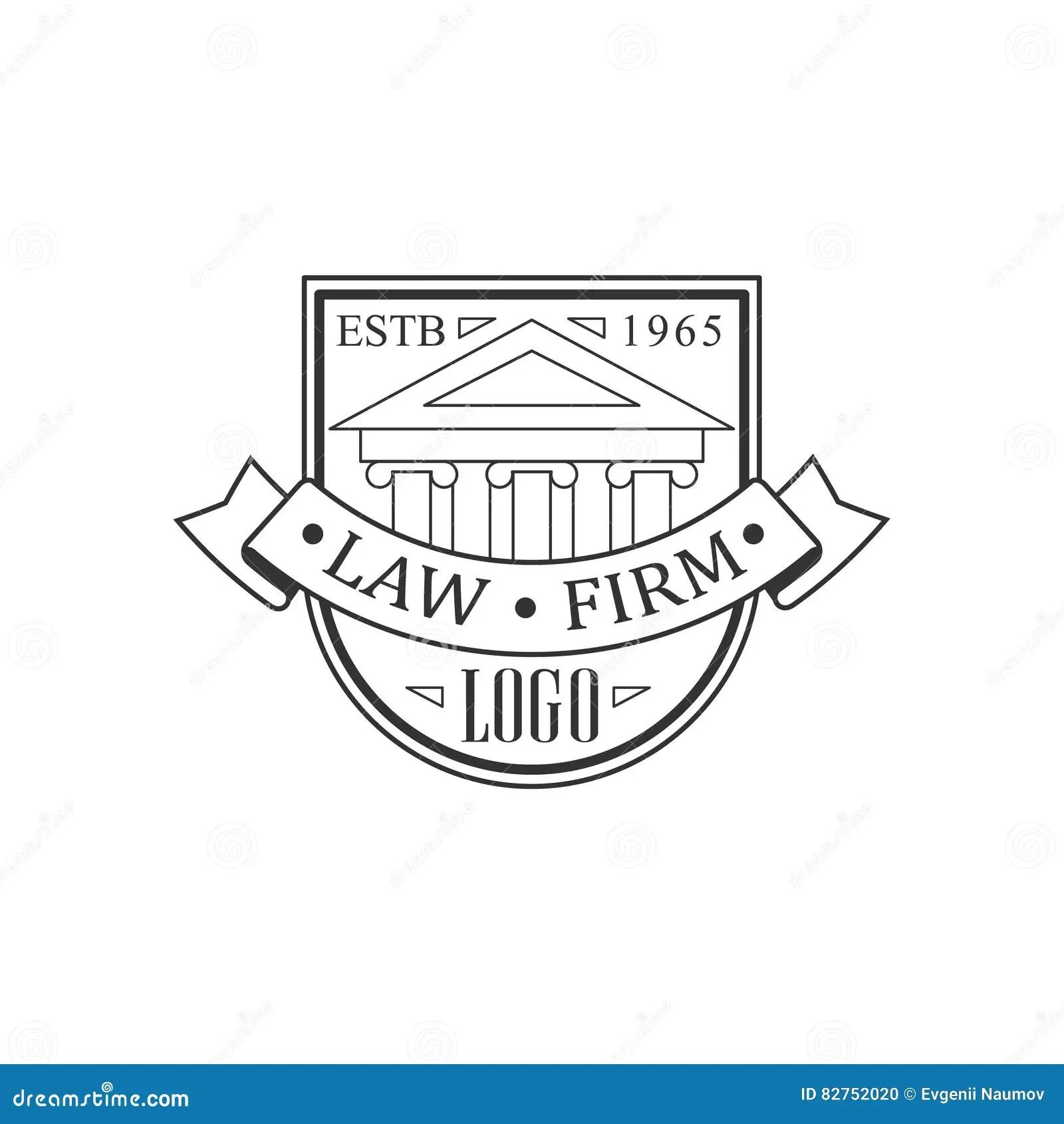 2d Logo Lawyer Cartoon Vector