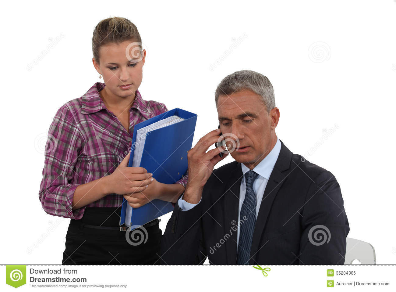 Lawyer And Assistant Stock Photo Image Of Client Lawyers