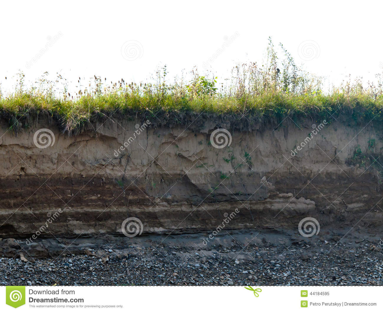Layer Of Soil Stock Image Image Of Empty Environment