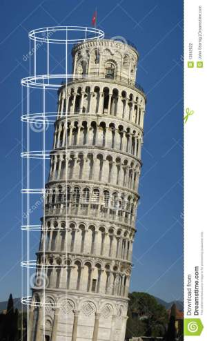 Leaning Tower Of Pisa Stock Photography  Image: 13892622