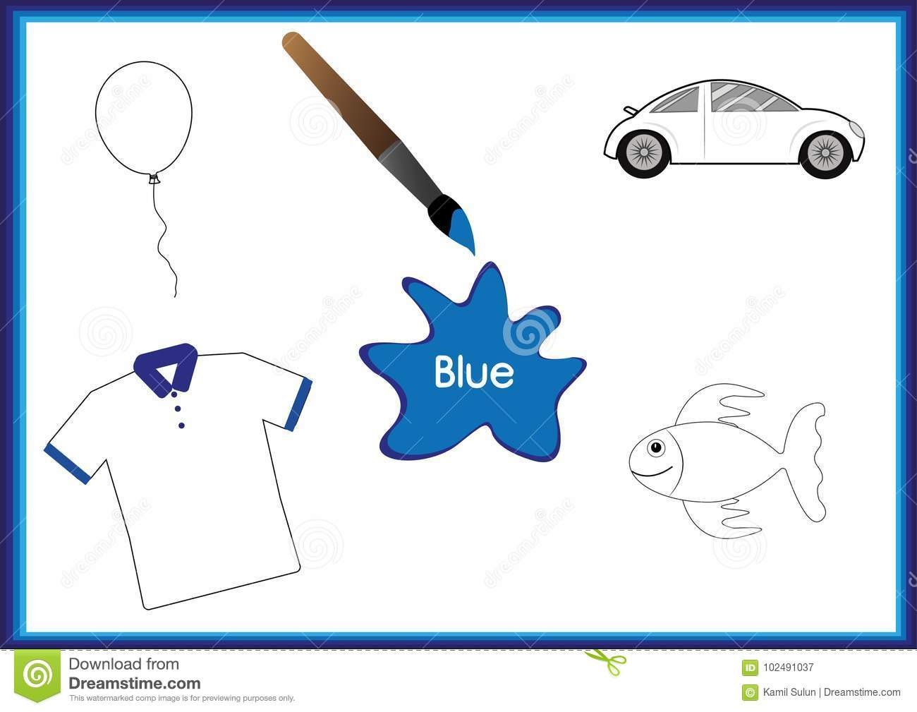 Learn The Colors Kids Are Learning The Colors Worksheet