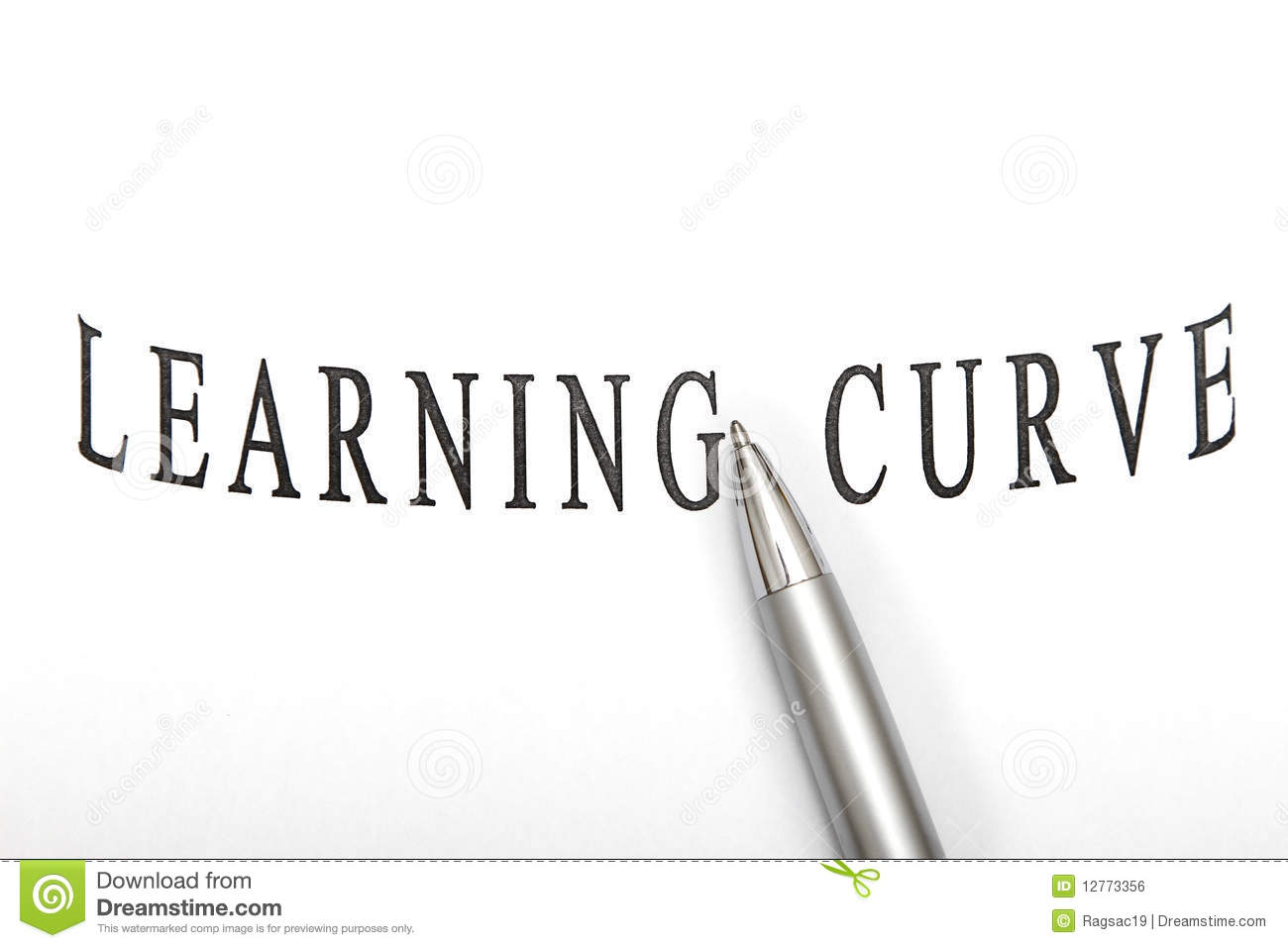 Learning Curve Stock Photo Image Of Holding Diagram