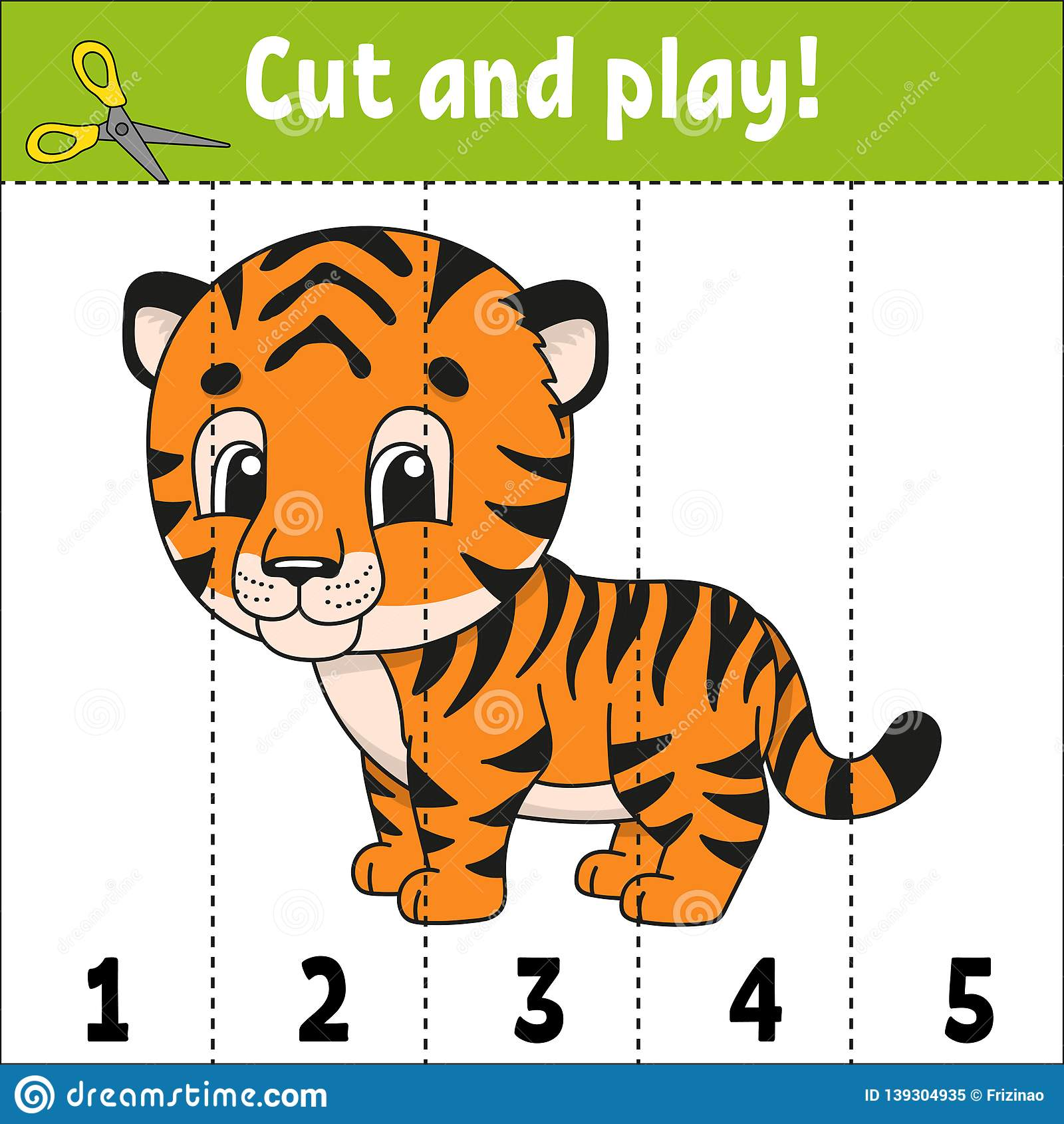 Learning Numbers Education Developing Worksheet Game For Kids Activity Page Puzzle For