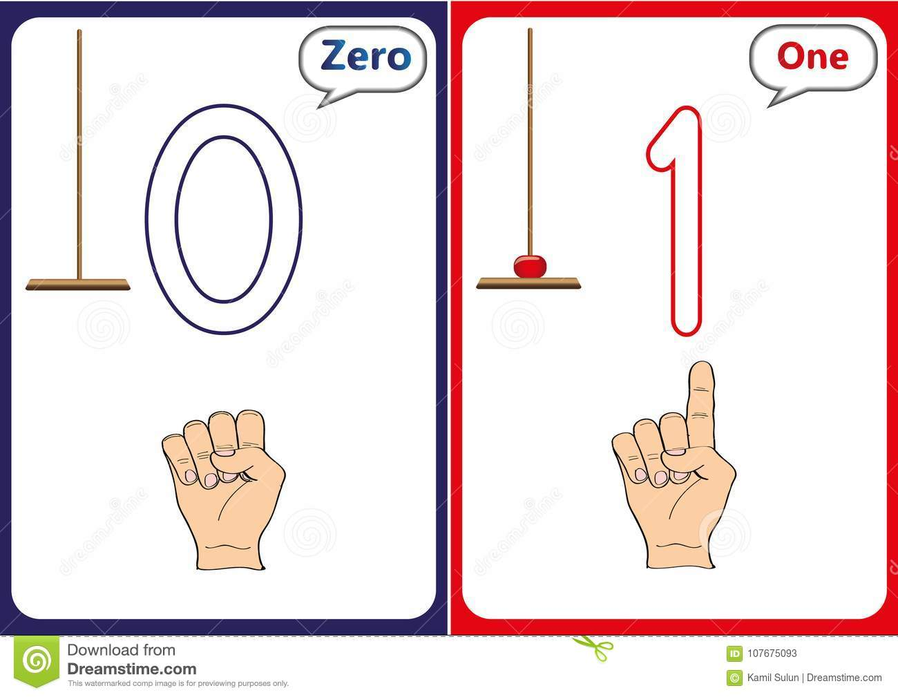 Zero Worksheet For Preschool
