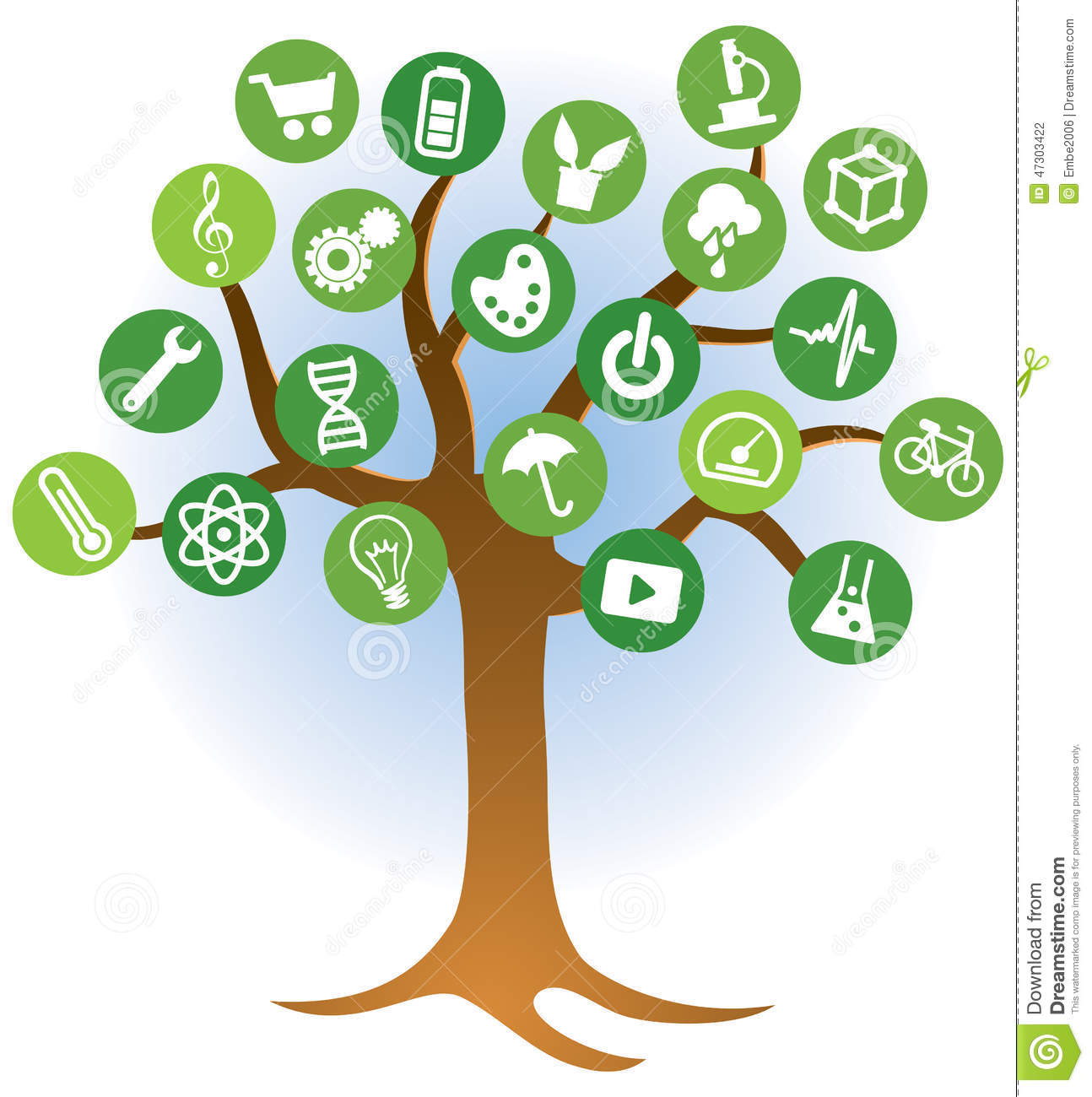 Learning Tree Logo Stock Vector Illustration Of