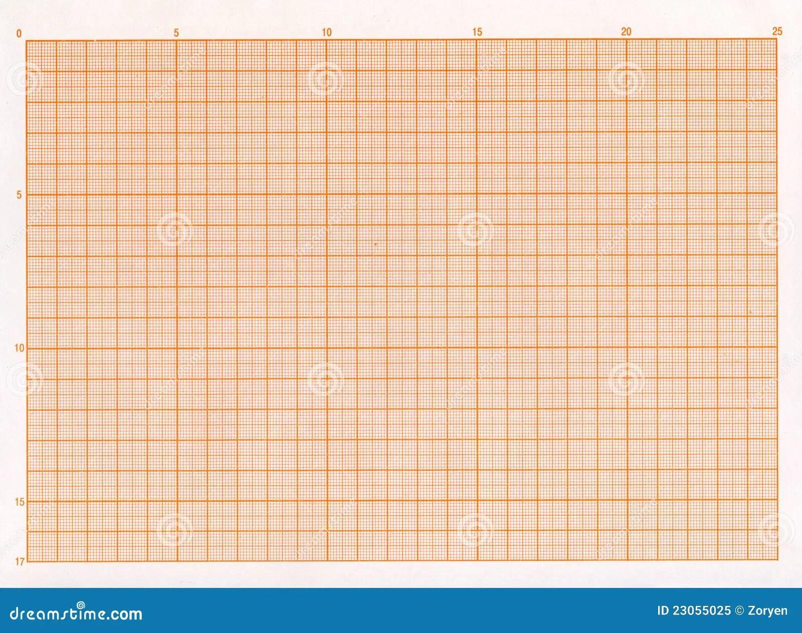 Leeg Millimeterpapier Stock Afbeelding Afbeelding Bestaande Uit Verticaal