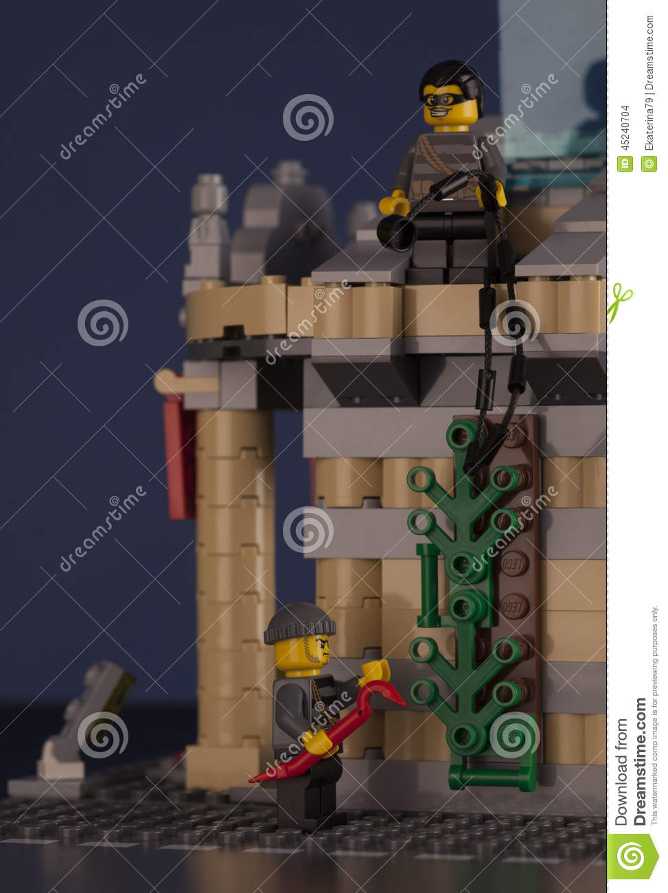 LEGO night museum break in editorial stock image  Image of burglary     Download comp