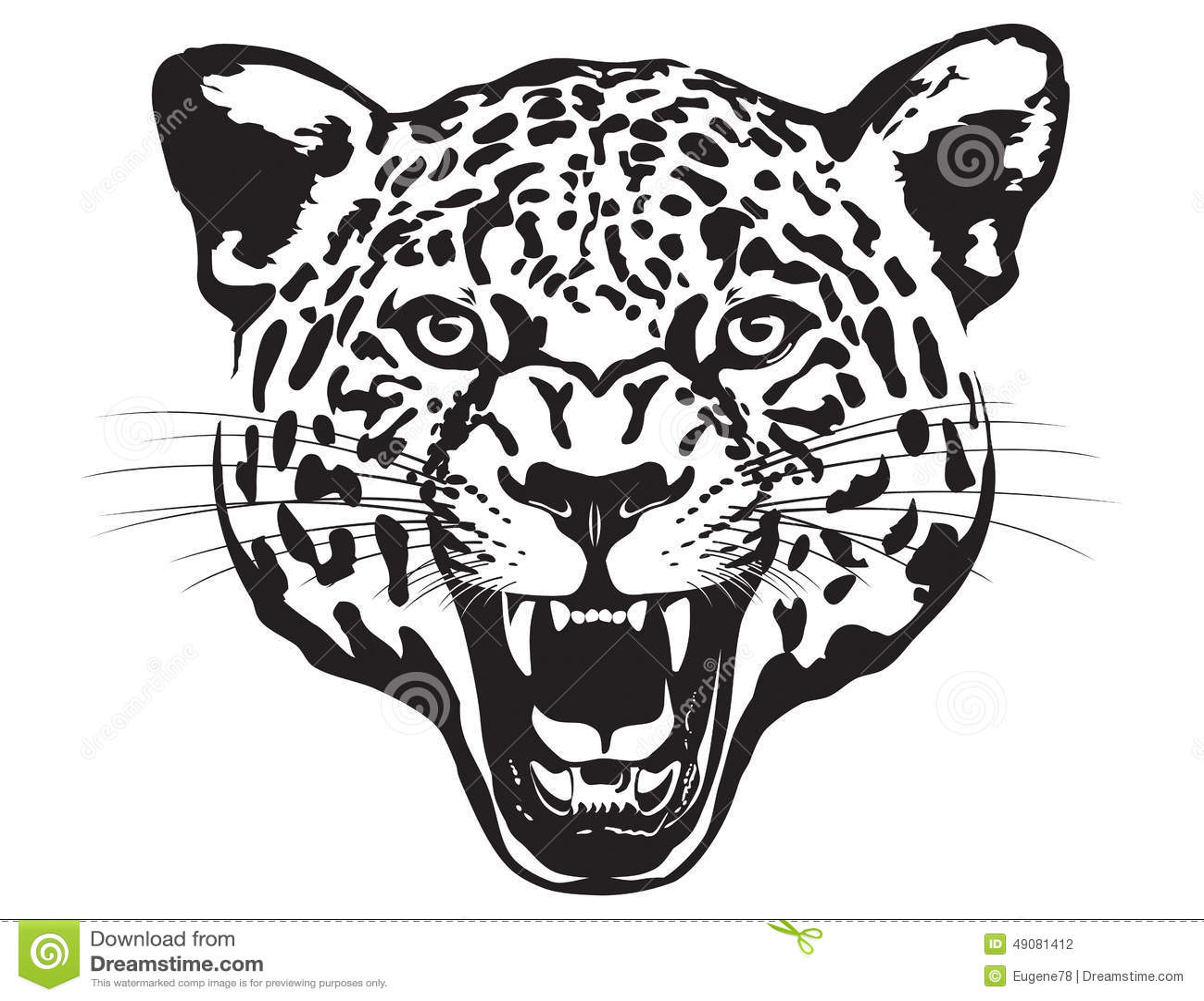 Jaguar Head Graphic