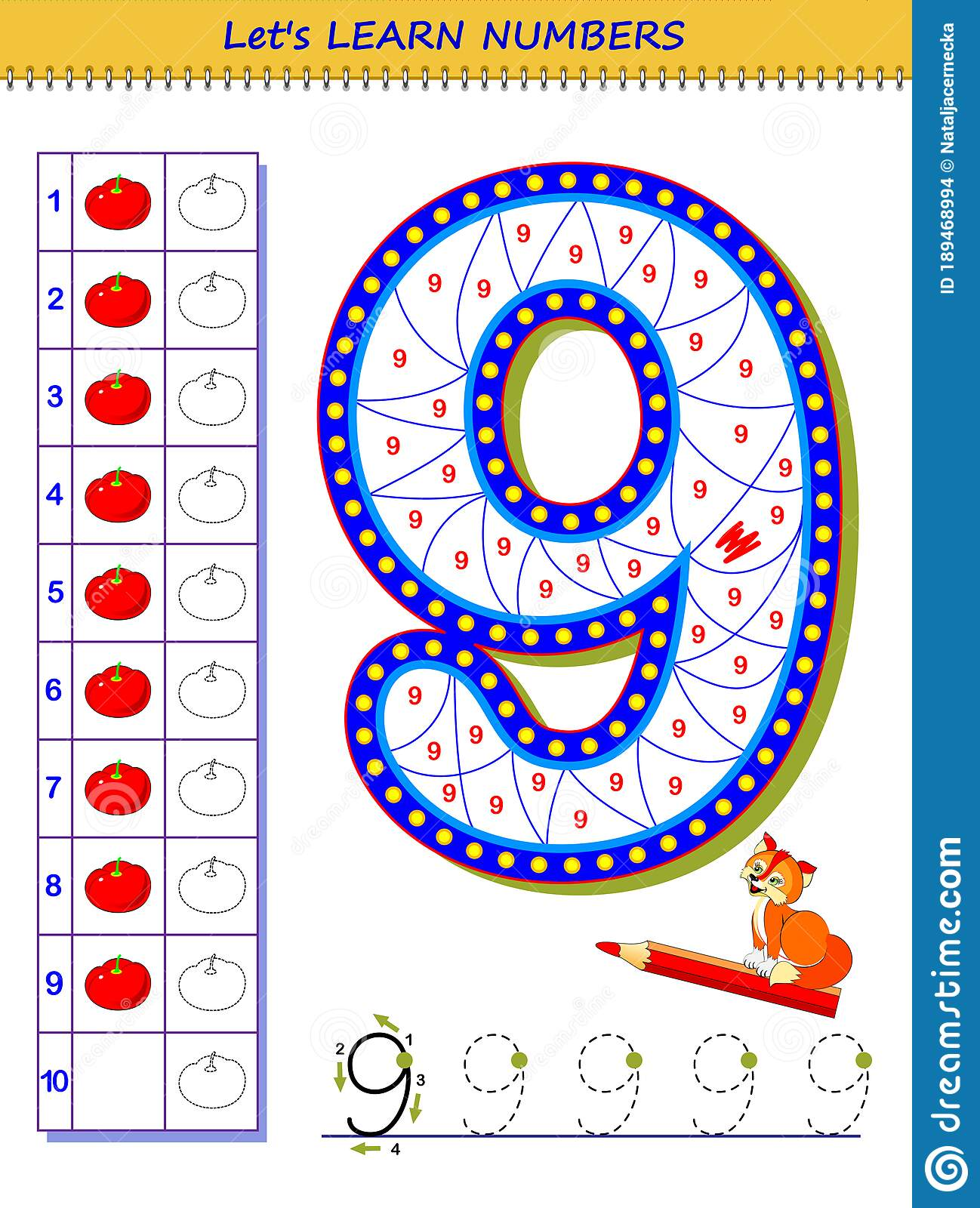 Let S Learn Numbers Educational Game For Children