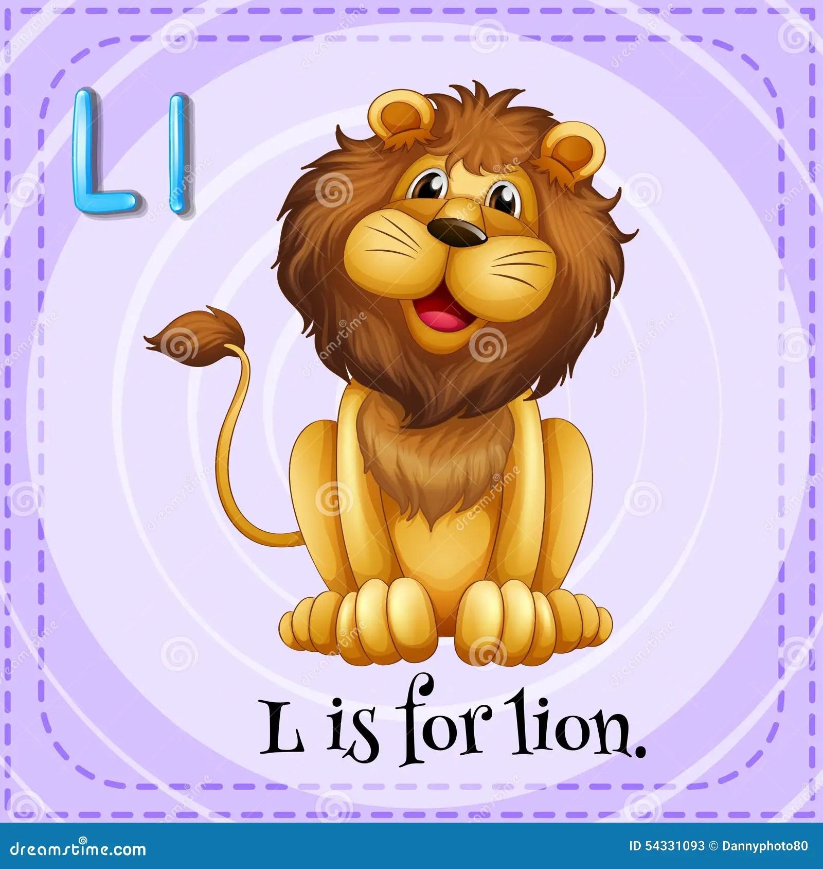 Letter L Stock Vector