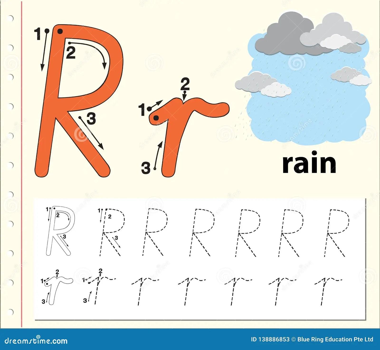 Grade R Alphabet Worksheet