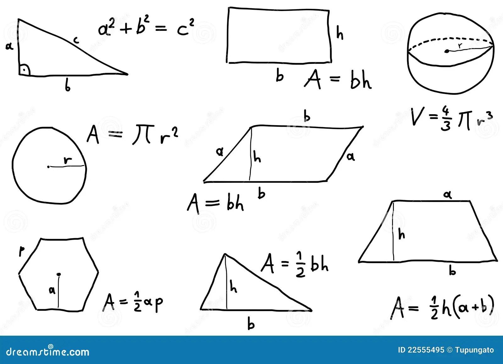 Licao Da Matematica Ilustracao Do Vetor Ilustracao De