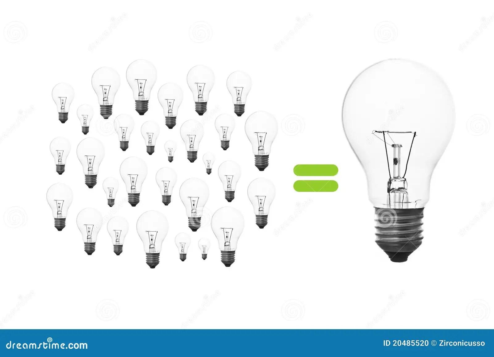 Light Bulb Brainstorming Stock Photo Image Of Power