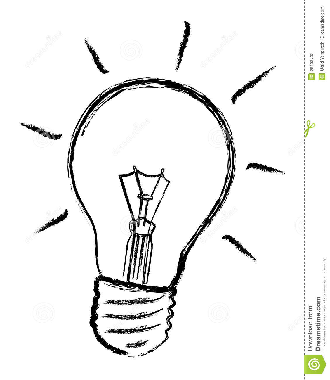 Light Bulb Vector Stock Photos