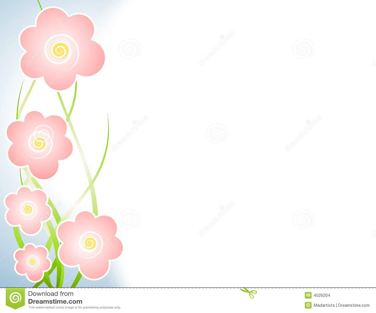 Springtime Flower Borders