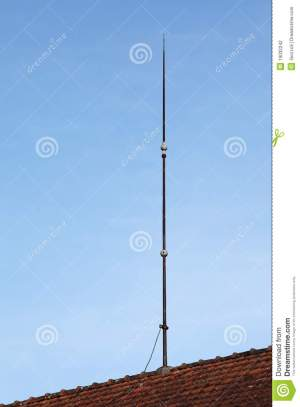 Lightning Conductor Rod Stock Photography  Image: 19032242