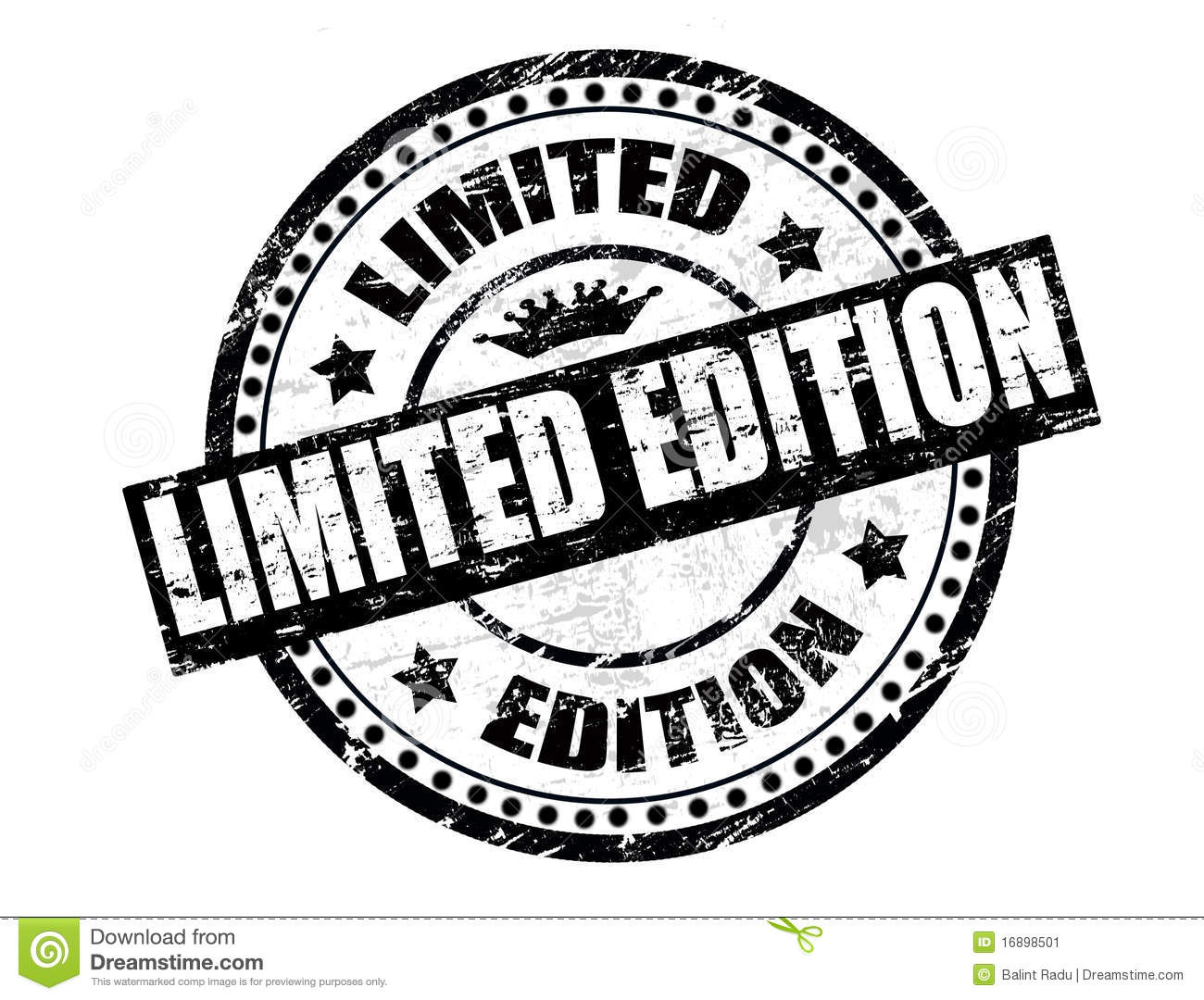 Limited Edition Stamp Stock Vector Illustration Of