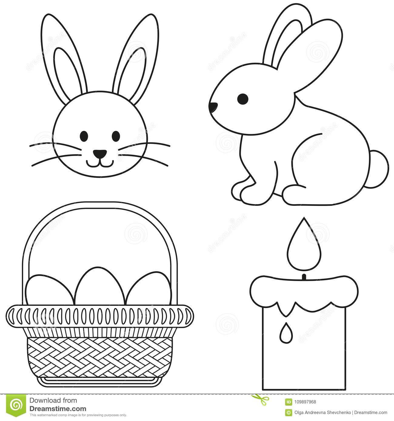 Easter Candle Stock Illustrations 2 934 Easter Candle