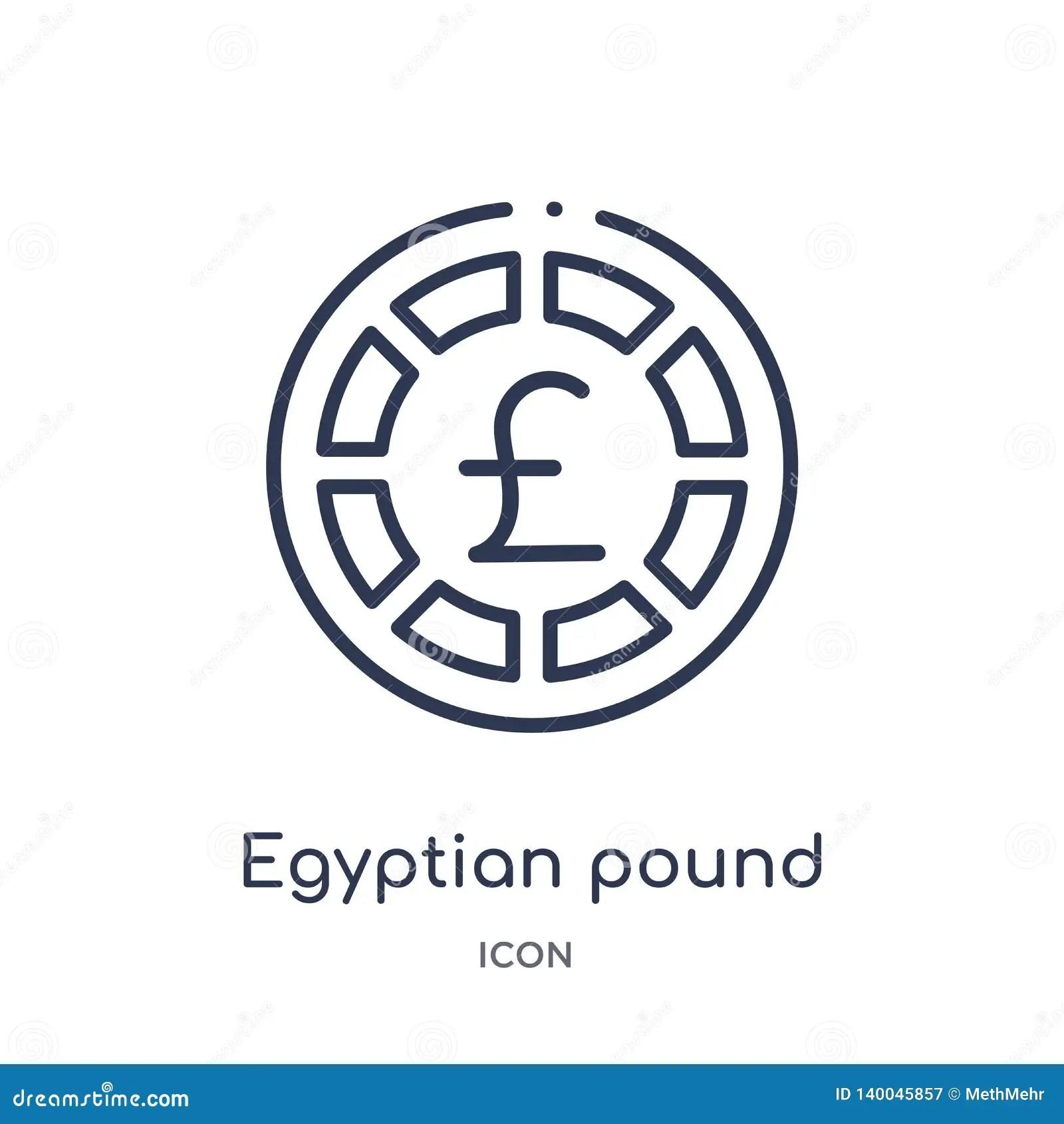 Egyptian Cartouche Outline
