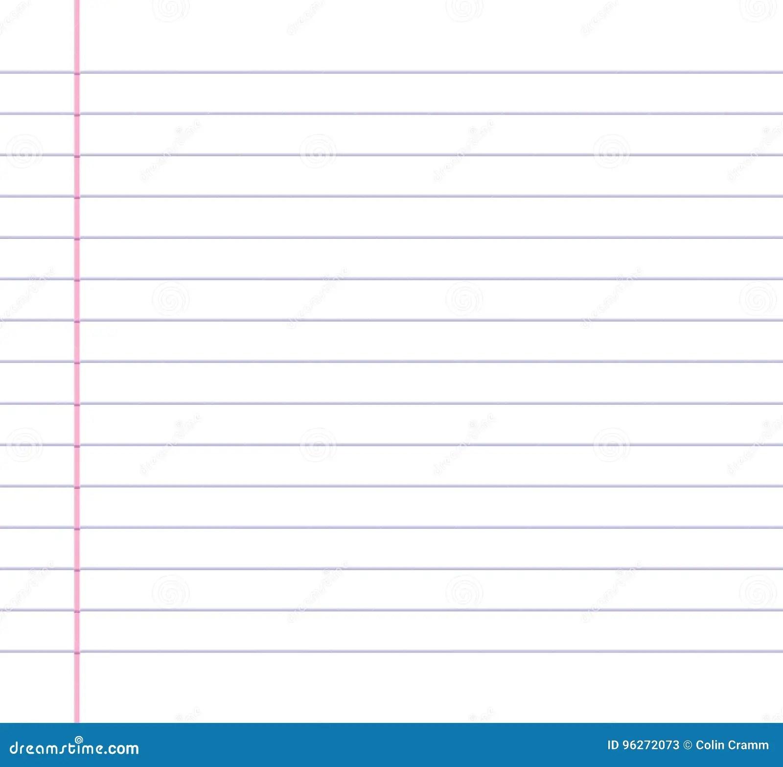 Line Paper Worksheet