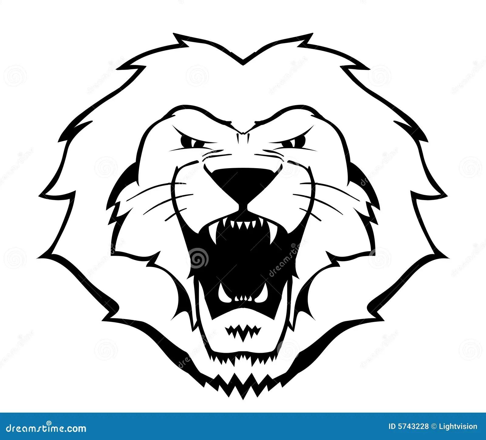 Lion Illustration Stock Vector Illustration Of Football