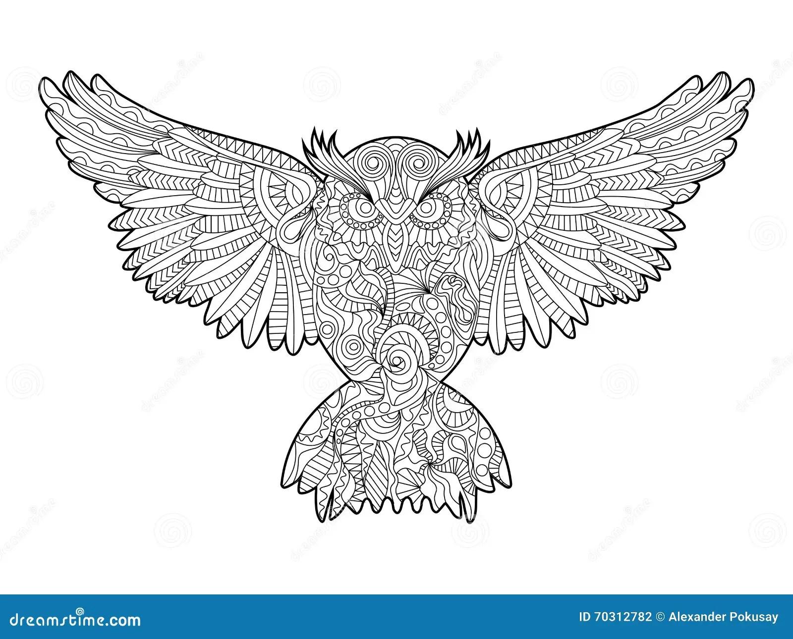 Easy Cartoon Eagle